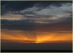 Закаты солнца. Панорамы. Пейзажи высокого разрешения