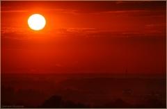 Красный закат. Красное фото. Закат солнца