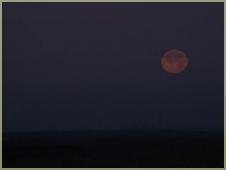 Фотографии закатов. Луна