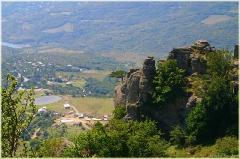 Фото с горы Демерджи. Село Лучистое. Крым. Горный пейзаж. Фотографии