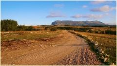 Плоскогорье. Дорога к пещере Эмине Баир Хосар. Крым. Горный пейзаж. Фотографии.