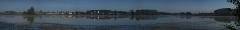 Утренняя панорама. Ворсма. Очень большое изображение
