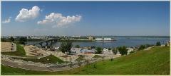 Виды Нижнего Новгорода. Фото города. Городской пейзаж. Панорама высокого разрешения