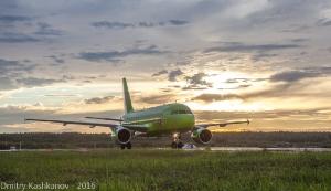 Самолет компании S7. Фото