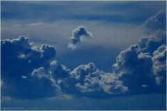 Облако - морской конек. Фото красивых облаков