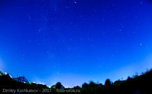 Фото ночного неба. Август. Время звездопада
