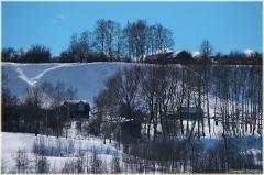Зимний пейзаж. Река Ока