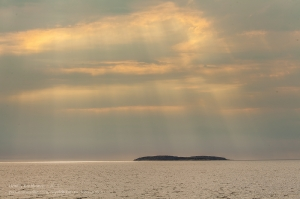 Белое море. Остров Олешин