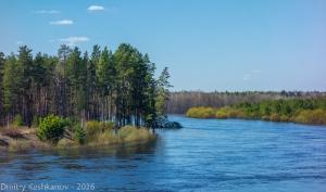 Весенний разлив на реке Керженец.