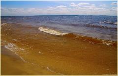 Волны. Горьковское море. Пансионат Буревестник
