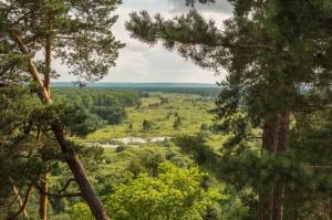 Решитихинский обрыв над рекой Осовец