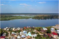 Село Безводное Нижегородской области. Фотографии домов. Красивые фото лета