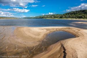 Фотографии реки Оки в районе города Горбатова. Хороший песчаный пляж