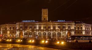 Площадь восстания. Московский вокзал. Санкт-Петербург
