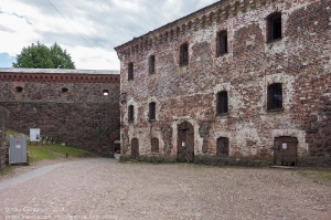 Фото Выборгского замка. Внутренний двор