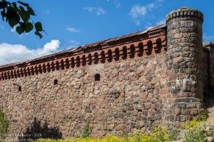 Выборгский замок. Стены и башни. Фото