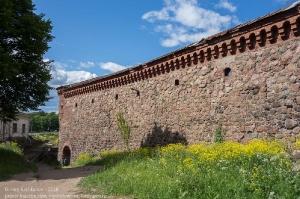 Внутренняя крепостная стена Выборгского замка