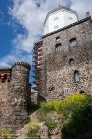 Выборгский замок. Крепостные стены и Башня Олафа