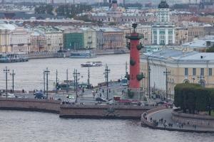 Ростральная колонна. Санкт-Петербург. Фото