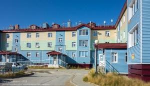 Поселок Тазовский. Современные дома