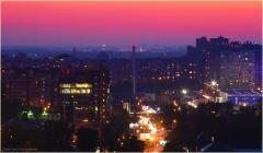 Ночной Нижний Новгород