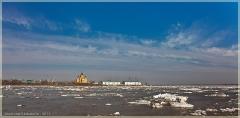 Фото Нижнего Новгорода. Стрелка, ледоход