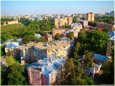 Виды Нижнего Новгорода. Старые дворики
