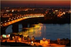 Фото Канавинского моста. Ночной Нижний Новгород