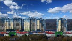 Нижний Новгород. Седьмое небо. Фото микрорайона. Ашан