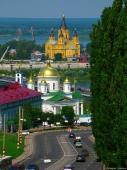 Собор Александра Невского. Мужской монастырь. Достопримечательности Нижнего Новгорода