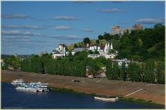 Благовещенский Мужской монастырь. Нижневолжская набережная. Фото Нижнего Новгорода