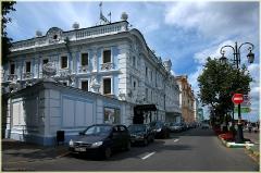 Здание краеведческого музея на Верхневолжской набережной. Фото Нижнего Новгорода