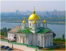 Благовещенский мужской монастырь в Нижнем Новгороде. Фотография высокого разрешения