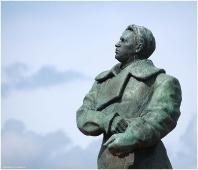 Валерий Чкалов. Панятник на площади Минина. Фотографии Нижнего Новгорода