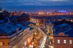 Улица Рождественская. Нижний Новгород. Вечернее фото
