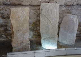 Болгар. Лапидарий в Северном мавзолее. Выставка эпиграфики