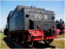 Тендер паровоза. Фото из музея паровозов