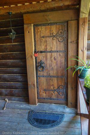 Вход в баню. Фото. Гостевой дом Веры Федоровны. Суздаль