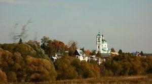 На подъезде к Суздалю. Село Якиманское. Церковь Богоматери Живоносный Источник